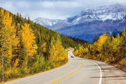 Keuken foto achterwand Canada The grandiose nature of the Rockies