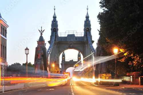 Foto op Plexiglas London Hammersmith Bridge