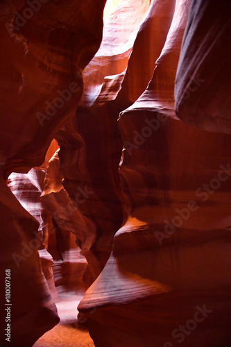 Tuinposter Bruin Page, USA - july 9 2016 : Antelope Canyon