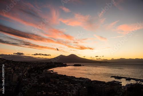 Fotobehang Napels Napoli alba II