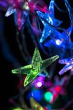 christmas background - christmas decoration - stars shining - 180024554