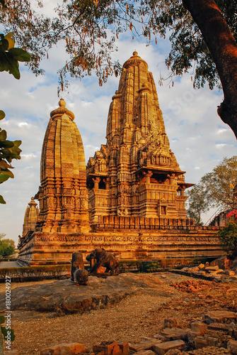 Foto Murales India Khajuraho hindu temple