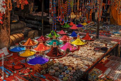 Foto Murales India Orcha market