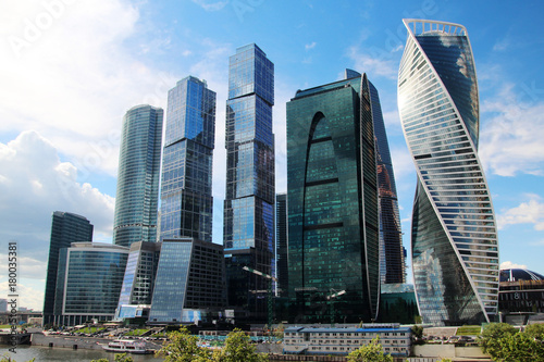 Papiers peints Moscou Moscow-City business center, Russia