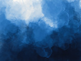 Blue watercolor background - 180038502