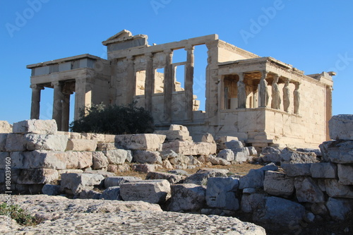 Foto op Canvas Athene Tempel in der Akropolis