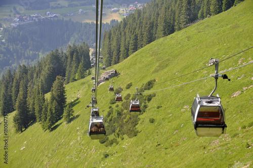 Foto op Plexiglas Pistache kanzelwandbahn im kleinwalsertal