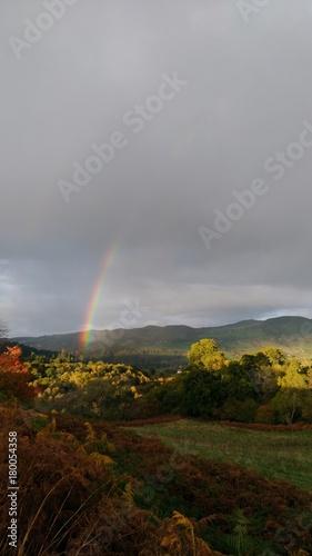 Aluminium Chocoladebruin rainbow