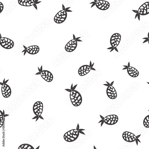 seamless pineapple pattern - 180079552
