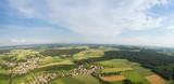 Luftaufnahme von ländlicher Region  - 180082160