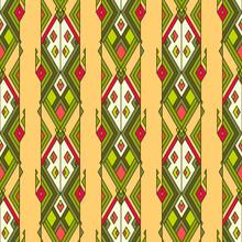 Tribal vintage etnische naadloze patroon. aztec, mexicaans, navajo, afrikaans motief.