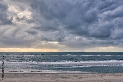 Foto op Plexiglas Noordzee Herbststurm