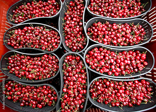 Papiers peints Rouge traffic Cherries