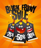 Black friday sale banner - 180093986