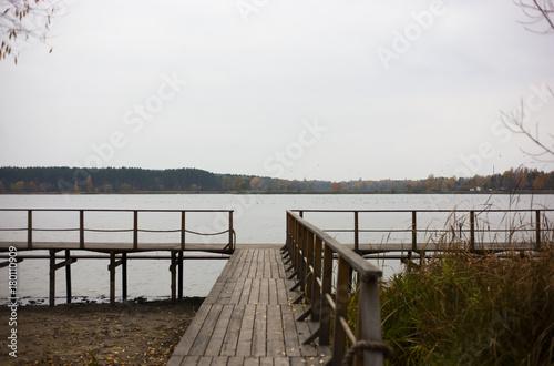 Fotobehang Pier Pier