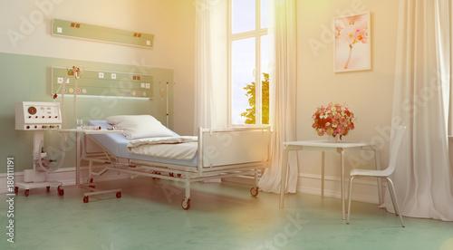 Zimmer für Patienten im Pflegeheim oder Krankenhaus - 180111191