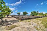 Marae Taputapuatea on the coast of Raiatea  in French Polynesia. - 180113124