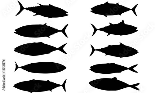 tuna silhouette vector graphics buy photos ap images detailview