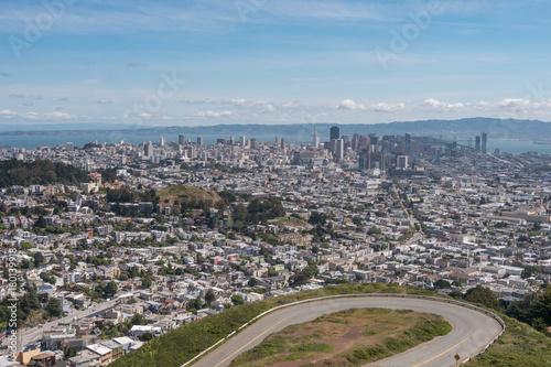 Plexiglas San Francisco twin peaks observation point