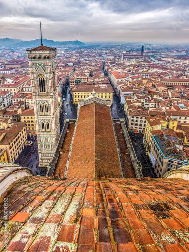 Fotobehang Florence Campanile di Giotto, Santa Maria del Fiore, Firenze