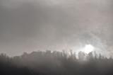 Wschód słońca pośród mgły, Rajskie Bieszczady - 180144338