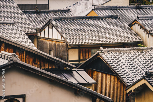 Foto op Plexiglas Kyoto Kyoto traditional houses in Higashiyama District, Japan