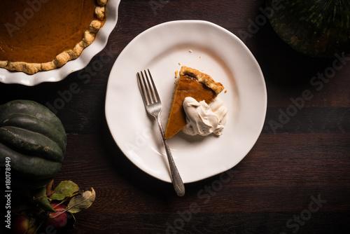 pumpkin pie - 180178949