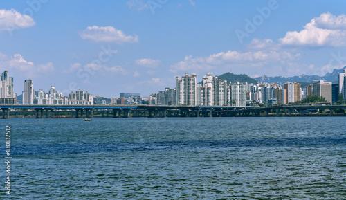 Fotobehang Seoel 서울