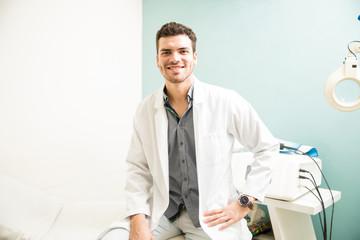 Male therapist at a health spa