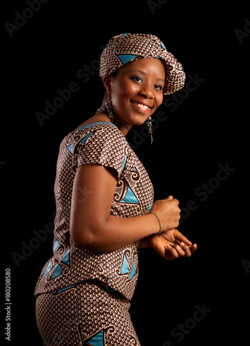 Fototapeta Dance from Africa
