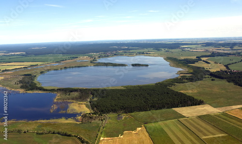 Aluminium Blauwe hemel Galenbecker See in Vorpommern