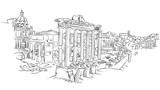 Ancient Rome roman forum
