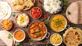 assorted indian food - 180226311