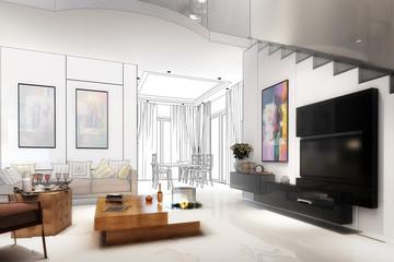 Modern furnishing concept (draft)