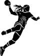 Handballeuse - 180232950