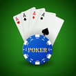 Casino poker background - 180234706