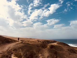 Mal nombre beach in Fuerteventura, Canary islands, Spain