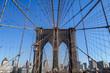 Pont de Brooklyn en détail
