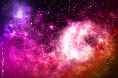 Deurstickers Nasa Beautiful space backdrop