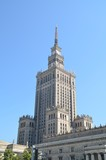 Palace of culture on sunny day - Warsaw Poland - 180261389