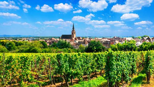 Fotobehang Freesurf Alsace region of France - famous