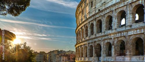 Plexiglas Blauwe jeans La ville de Rome