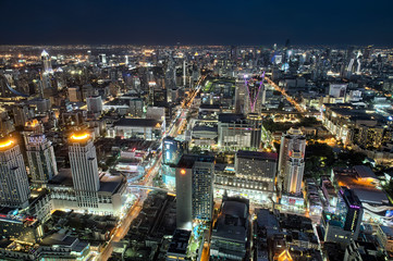 Bangkok Skyline Nightview