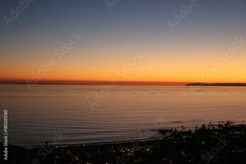 Foto op Canvas Zee zonsondergang San Diego
