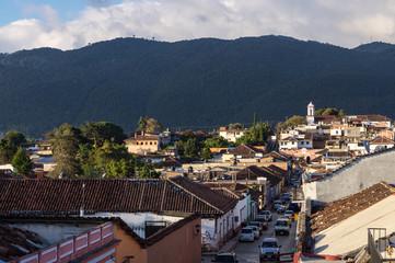 Village de San Cristóbal de Las Casas, Mexique