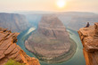 Woman Looks Out Over Horseshoe Bend
