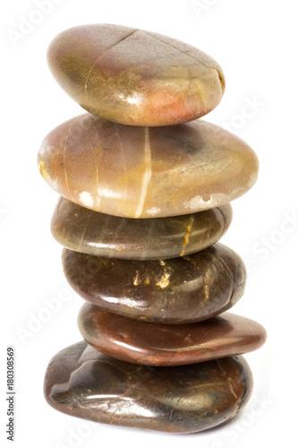 Foto op Plexiglas Zen galets empilés