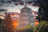 large pagoda of wild geese - 180319546
