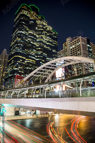 Fototapeta Views of Bangkok by night