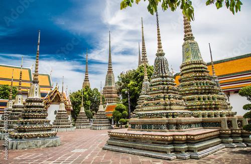 Foto op Plexiglas Bangkok Wat Pho, Reclined buddha in Bangkok, Thailand